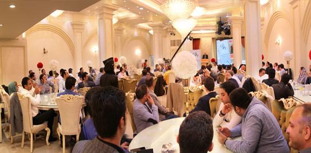 مراسم ضیافت افطاری انجمن غرفه سازان