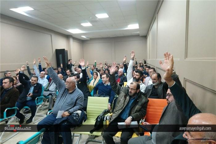 Photo of گزارش تصویری انتخابات هیئت مدیره انجمن غرفه سازان