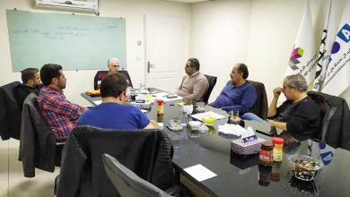 تصویر از اولین جلسه هیات مدیره انجمن دوره چهارم