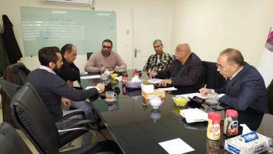 تصویر از اولین جلسه کمیته پیمانکاران با حضور اعضای کمیته برگزار گردید