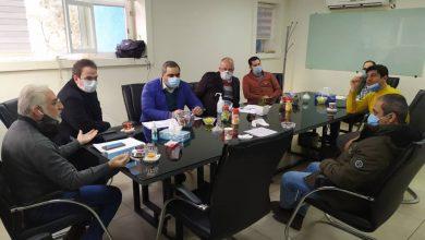 تصویر از برگزاری جلسه کمیته انضباطی بصورت حضوری در محل انجمن غرفه سازان