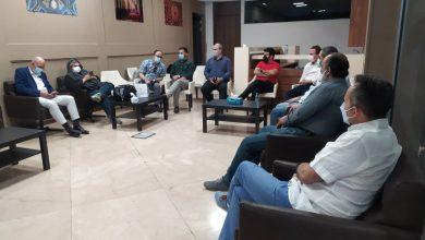 تصویر از جلسه کمیته راهبردی انجمن