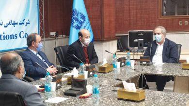 تصویر از جلسه مشترک هیئت مدیره انجمن غرفه سازان با مدیر عامل شرکت سهامی نمایشگاه های بین المللی جمهوری اسلامی ایران